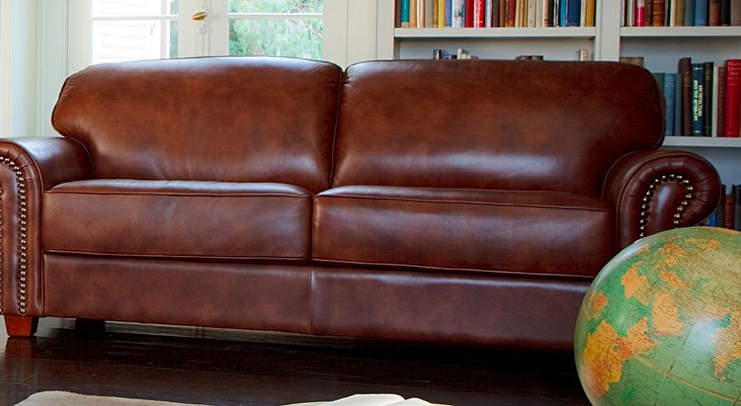 Cambridge Leather Sofas | 2 Seater & 3 Seater Sofa | Plush ...