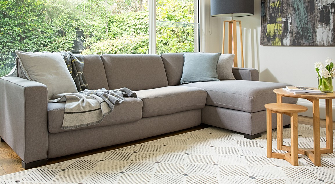 Dex Leather Sofa Beds | 2 Seater & 3 Seater Sofa Beds | Plush