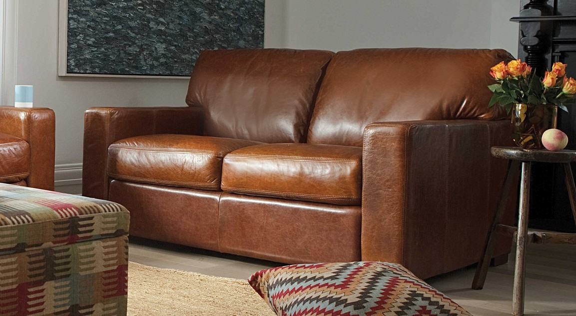 Estate leather sofas 2 seater 3 seater sofa plush for Leather sofa 7 seater